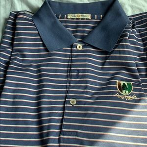 PETER Millar pine valley golf shirt